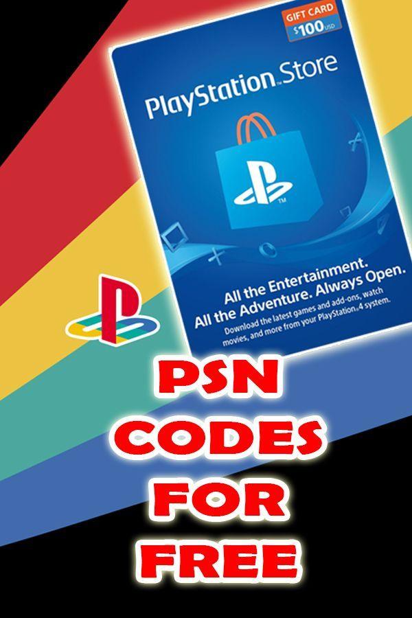 Psn Codes Free Psn Code Generator Psn Redeem Code Psn Psncodes Freepsn Amazon Gift Card Free Ps4 Gift Card Playstation