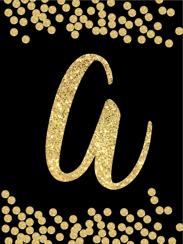 Free Printable Happy New Year Banner Letters (mit Bildern)