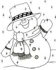 Resultado De Imagen Para Patchwork Navideno Muneco De Nieve Christmas Drawing Christmas Coloring Pages Snowman Coloring Pages