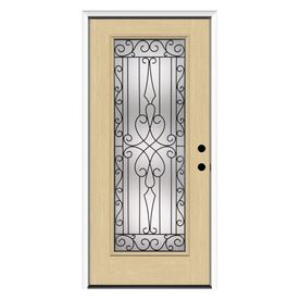 Reliabilt Decorative Prehung Inswing Fiberglass Entry Door