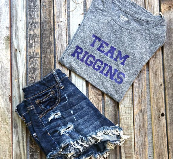 Team Riggins Friday Night Lights Tee / Friday Night Lights / NBC / Tim Riggins / #fridaynightlights Team Riggins Friday Night Lights Tee / Friday Night Lights / NBC / Tim Riggins / #fridaynightlights