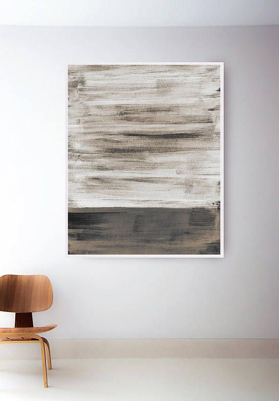 Neutral Abstract Print Printable Gray Painting Gray Abstract Art Neutral Wall Art Modern Prints Silver Print Grey Wall Art Grey Painting Grey Abstract Art