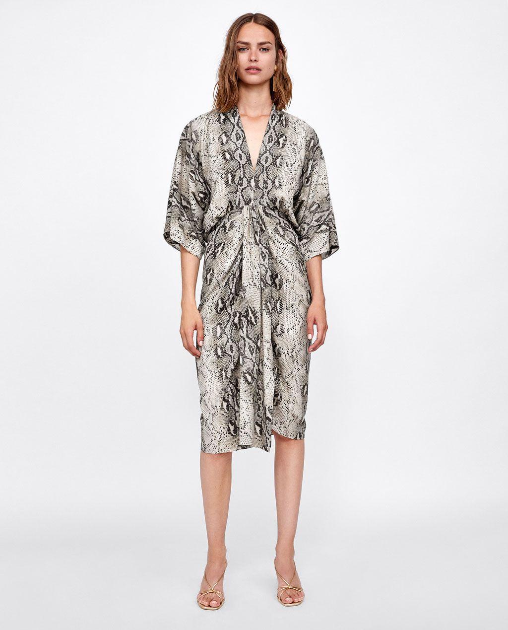 Dresses Estampado 2019 In DrapeadoOutfits❤️ Vestido ygYf6b7
