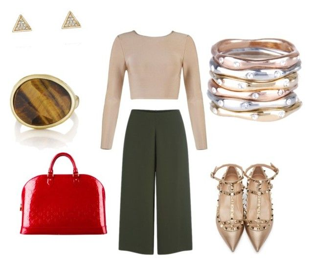 """""""#manrepeller #NYFW2015streetstyle"""" by eileen-mo on Polyvore featuring Cameo, Valentino, Louis Vuitton and Chloe + Isabel"""