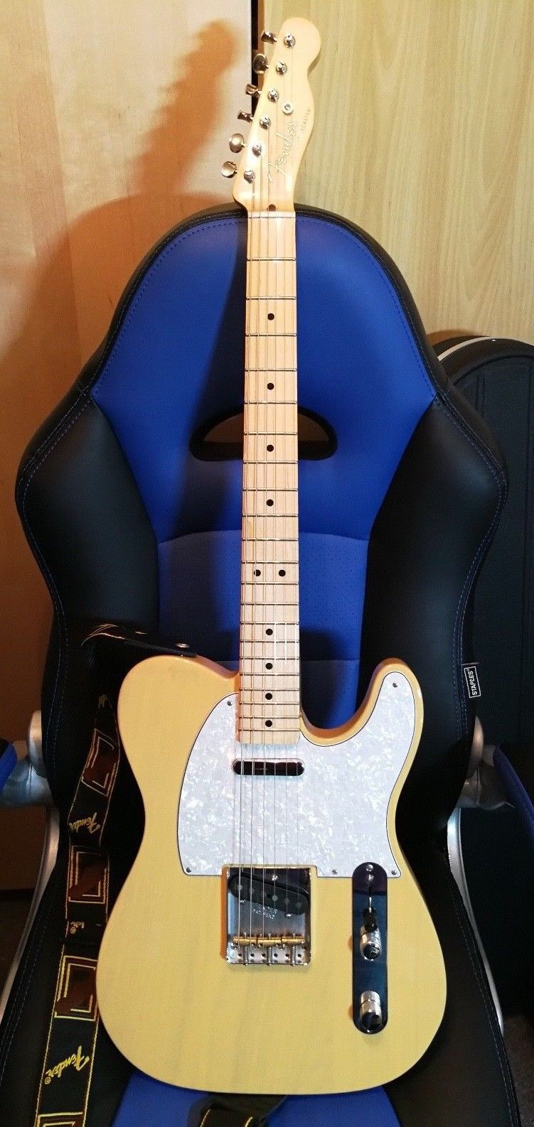 Fender Classic Player Baja Telecaster Blonde With Gig Bag 3 Pick Guards Strap Telecaster Prs Guitar Fender Guitars