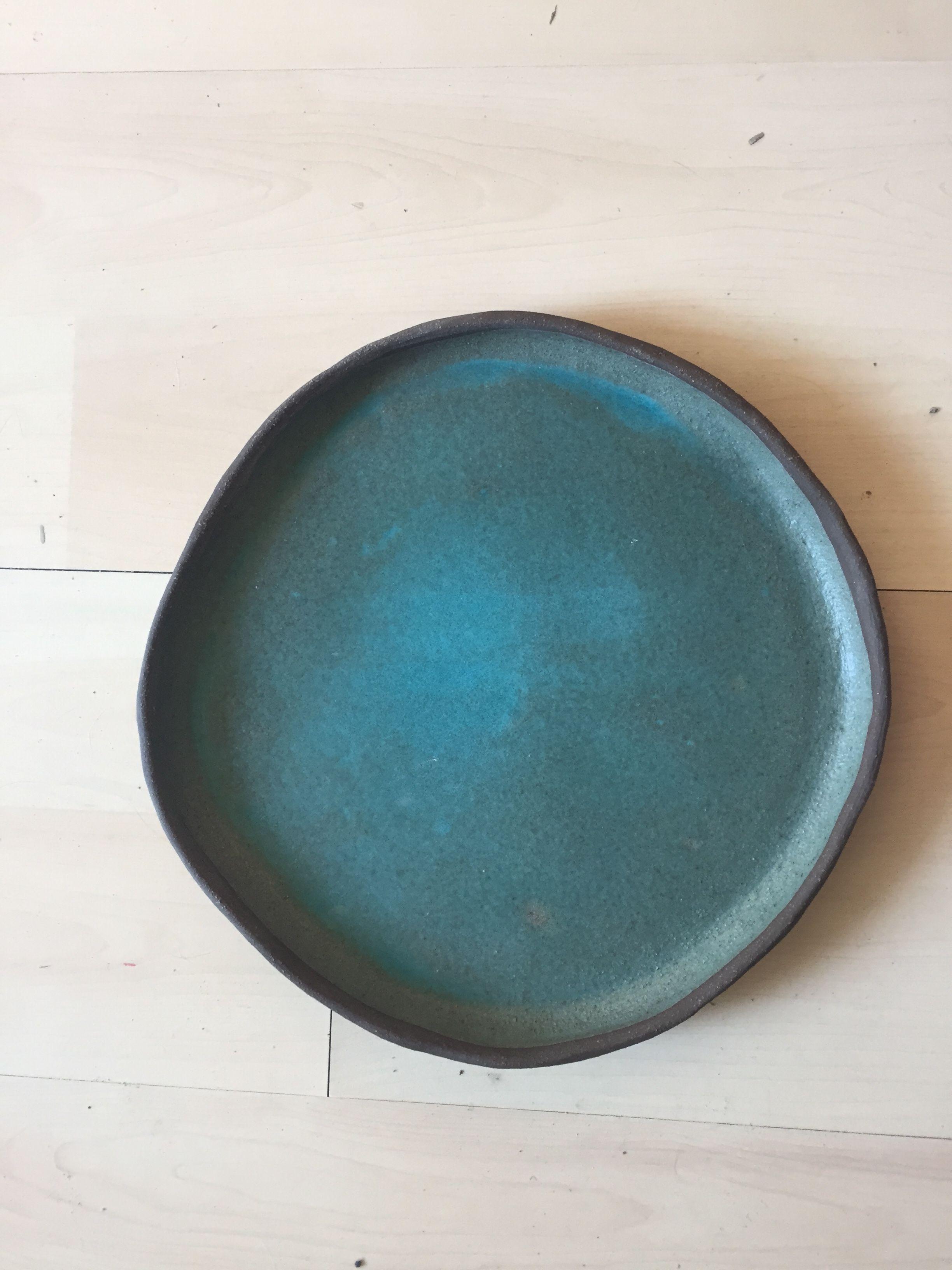Ceramic blue plate ceramics ceramic plates blue ceramics