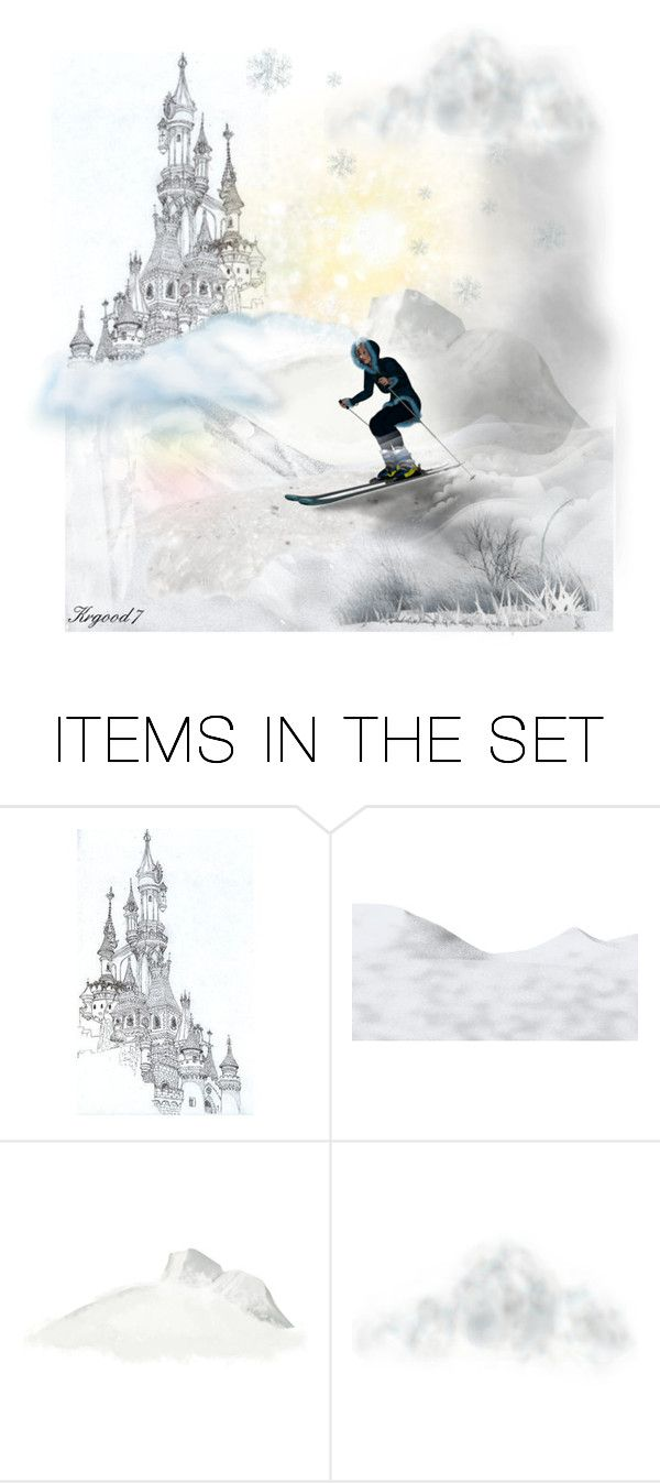 """Hidden Beyond The Clouds~★"" by krgood7 ❤ liked on Polyvore featuring art, ski, MAGICAL, journey, wonder and whimsy"