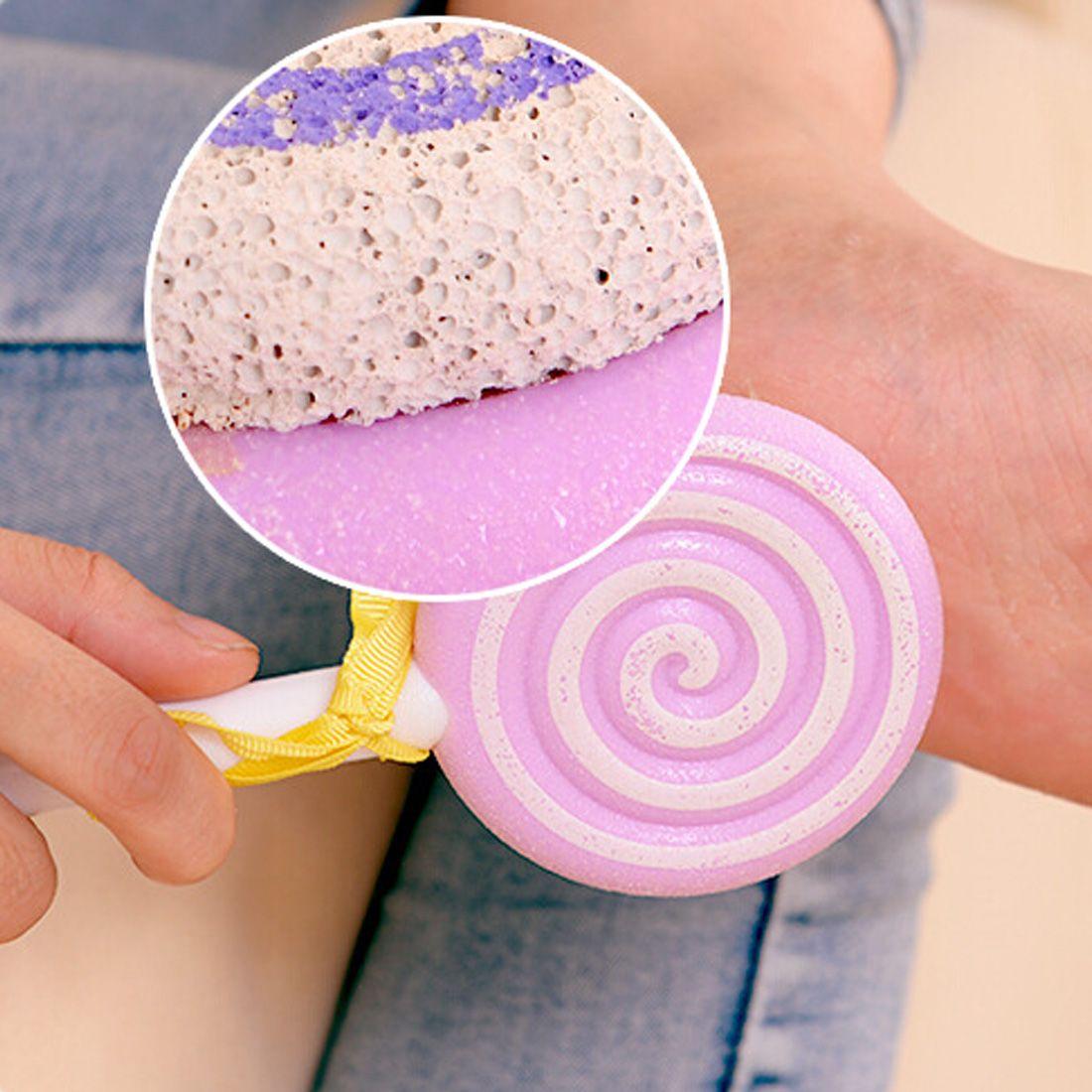 3.35US $ 20% OFF|Best 1pc Cute Lollipop Pedicure Foot File Scraper Scrubber Pedicure Tool Foot Clean Scruber Hard Skin Remover Scrub Pumice Stone|pedicure tools|foot filehard skin - AliExpress