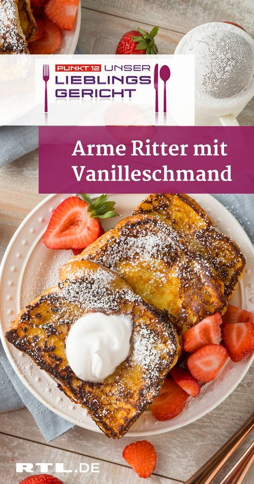 Photo of Poor knight with vanilla sour cream: quick recipe from Koch …