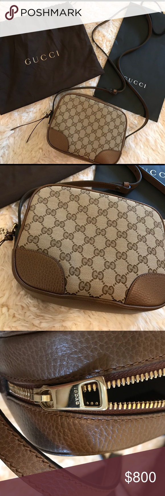 dcb9f86efc6376 Gucci Bree Disco Crossbody Bag Brand new and authentic Gucci Disco Bree  Crossbody Bag. I