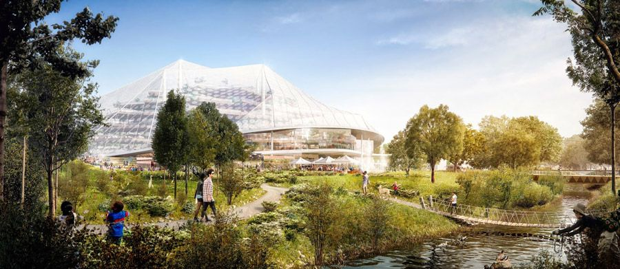 GOOGLE BIODOME: NEW HEADQUARTERS TO BLEND WITH ENVIRONMENT