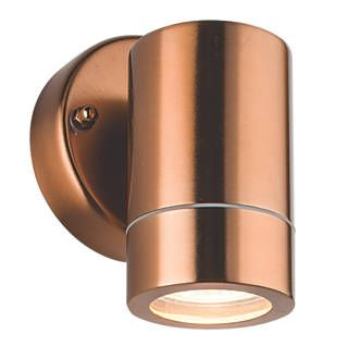 Order Online At Screwfix Com Plain Exterior Wall Light Constructed From Stainless Steel Directs Light Down Exterior Wall Light Wall Lights Garden Wall Lights