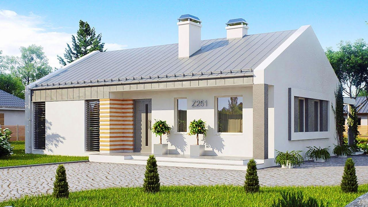 Inexpensive Z251 Stunning Small Energy Efficient One Story House With 2 Energy Efficient House Design Energy Efficient Homes House Design