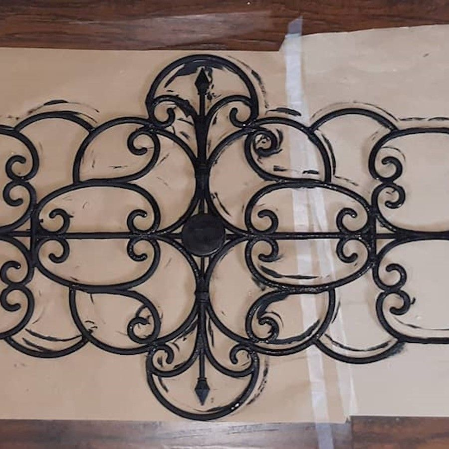 Sneak Peak At My Current Project A 5 Foot Long Faux Wrought Iron