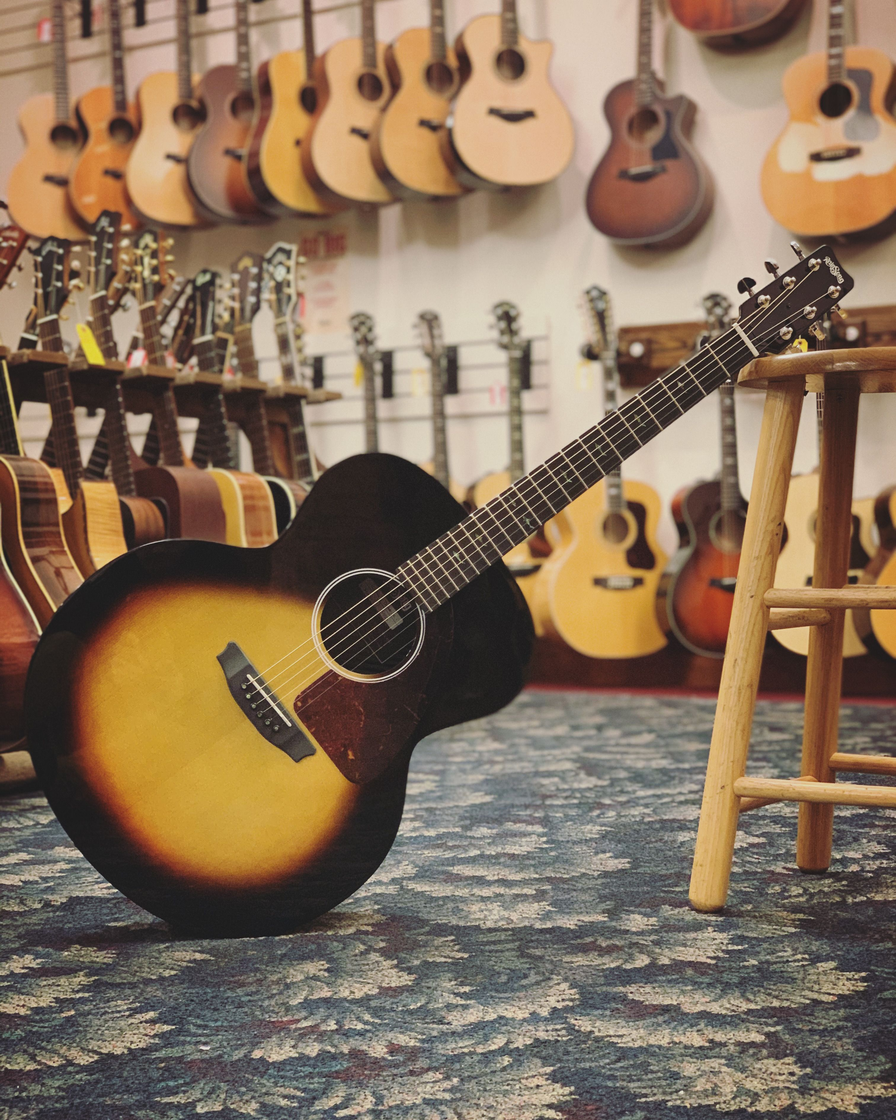Rainsong Nashville Sft Jumbo Acoustic Guitar And Case Guitar Acoustic Acoustic Guitar
