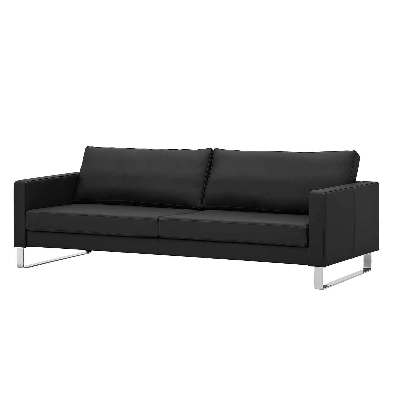 Fredriks Sofa Portobello 3 Seters Svart Ekte Skinn 216x75x85 Cm In 2020 Sofa Beautiful Sofas Furniture