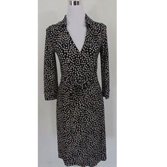 ❤️Preloved Jones New York polka dot dress size 4❤️ Perfect for spring Jones New York Dresses Midi