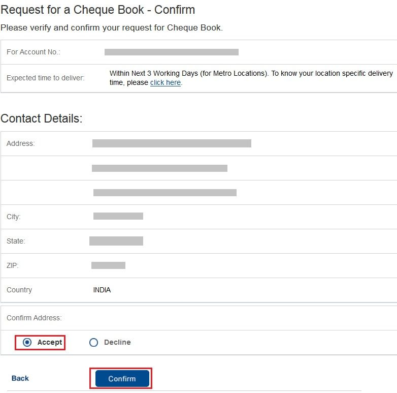 hdfc bank inter banking credit card cancellation letter format - check request forms