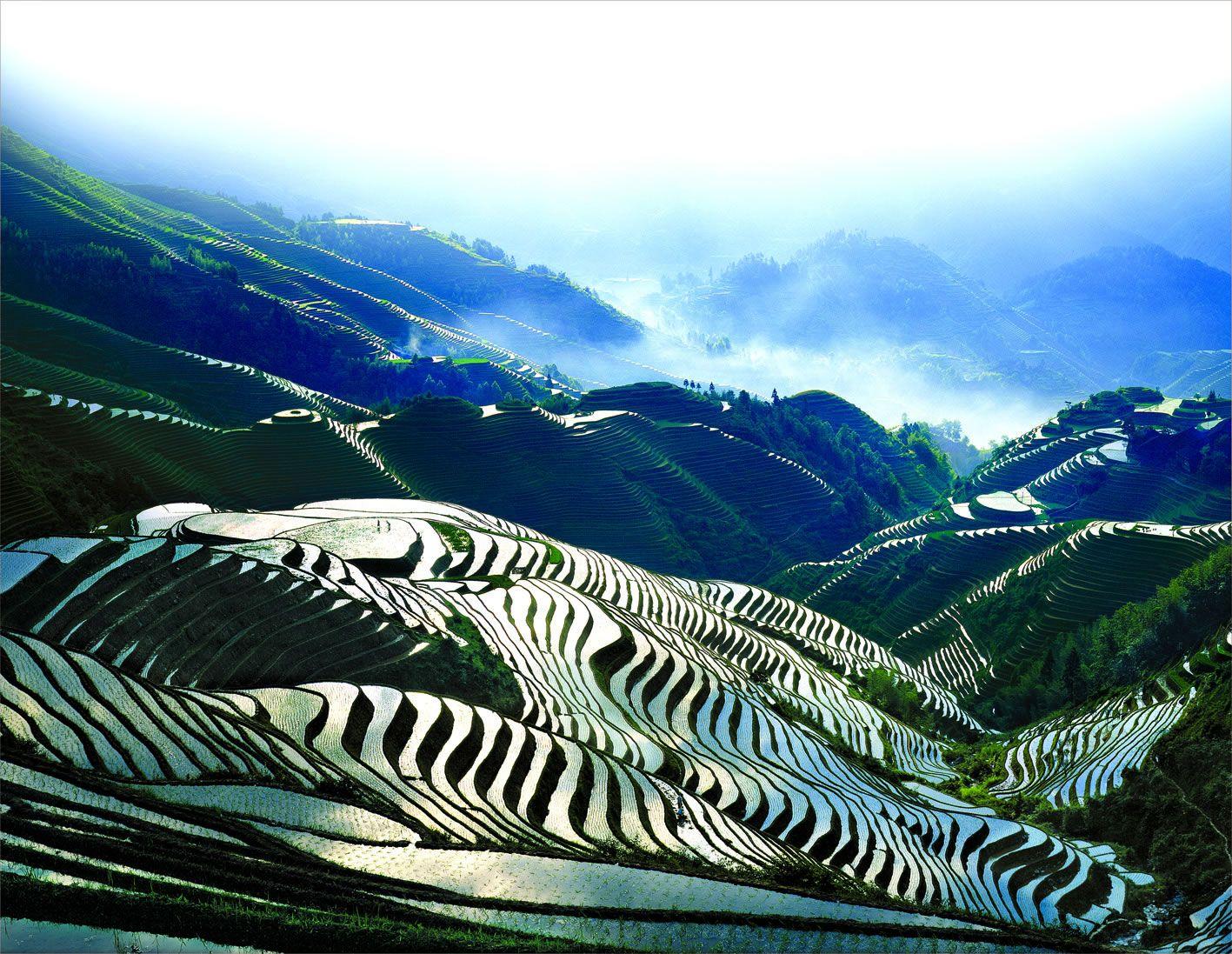 Guilin China Guilin Hiking Trip Travel