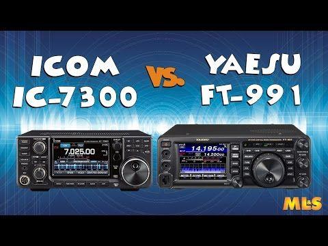 Icom IC-7300 vs Yaesu FT-991 80m SSB Comparison | QRZ Now – Amateur