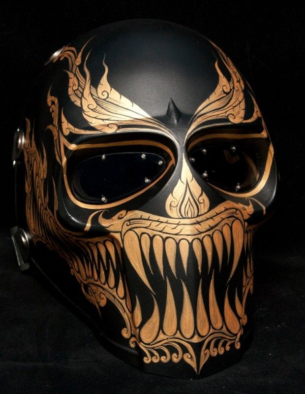 Fabulous Onimaru mask army of two helmet paintball airsoft halloween phi ta  SZ34