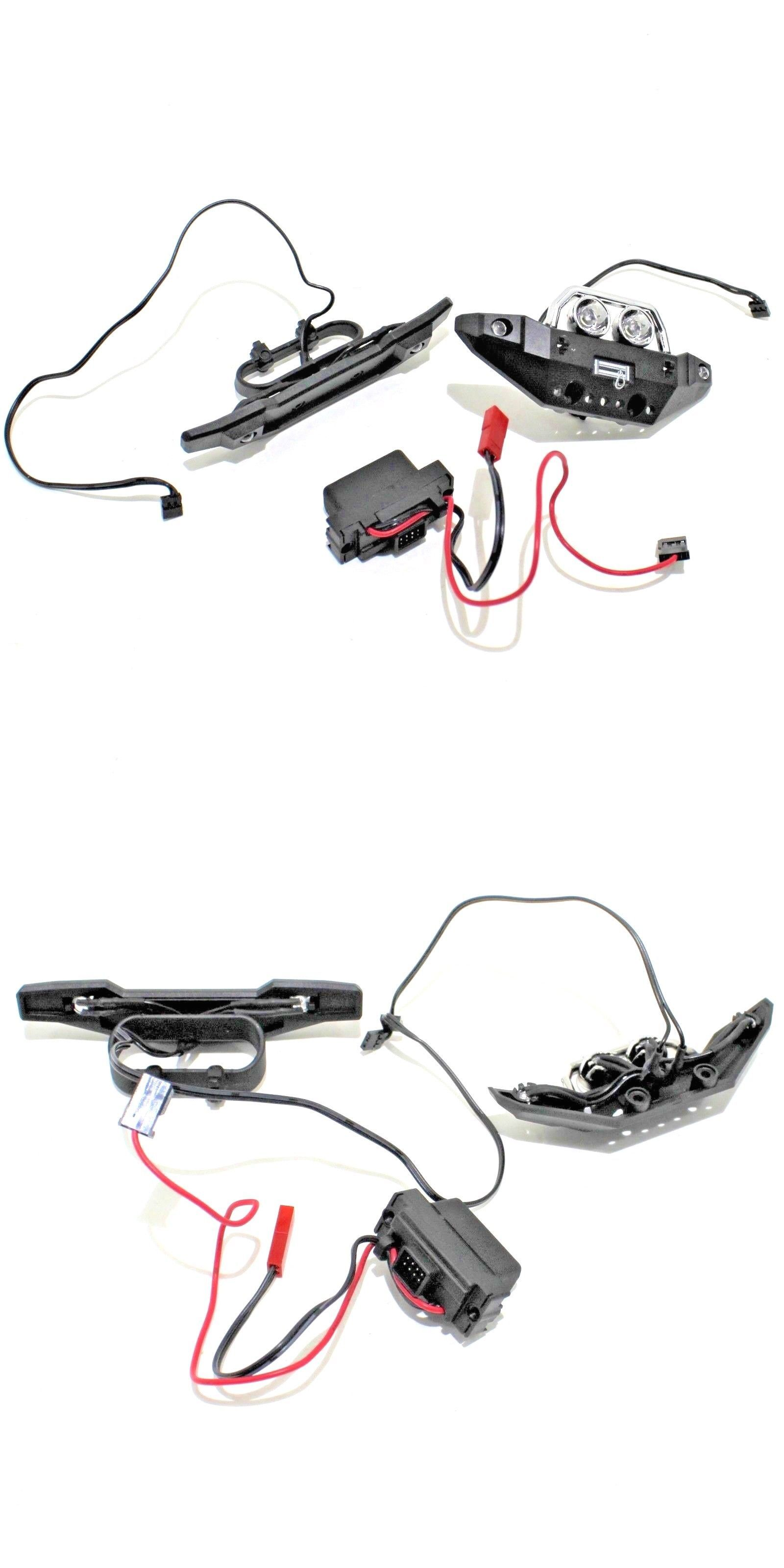 hight resolution of lighting and lamps 182177 traxxas summit 1 16 front rear bumpers led lights wire harness mounts wiring box buy it now only 26 99 on ebay