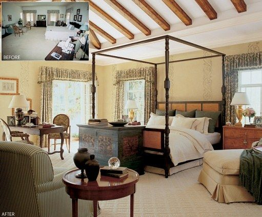 Before and After: Bedrooms | Architectural Digest