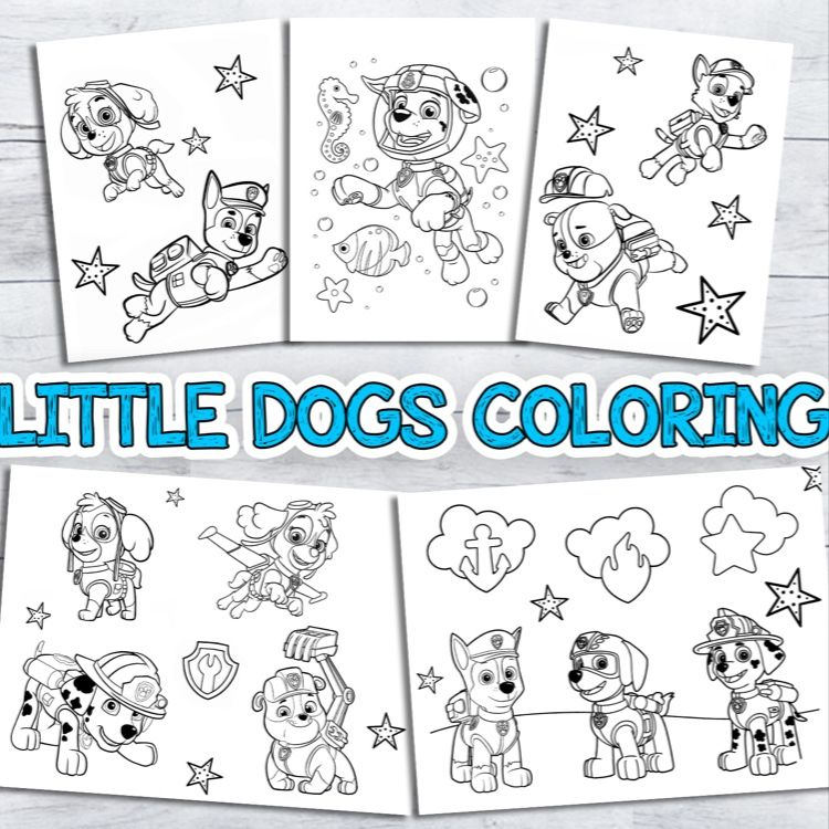 Dogs Coloring Pages For Kids Printable Coloring Book From 3 To 12 Years Old Dog Coloring Page Coloring Pages Printables Kids