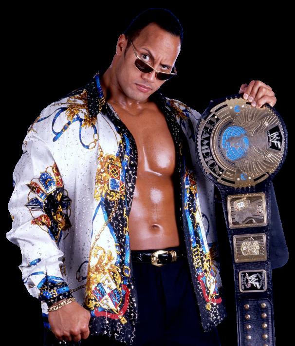 The Rock Wwf Champion By Nuruddinayobwwe Wwe The Rock Wwf Superstars Wwe Champions