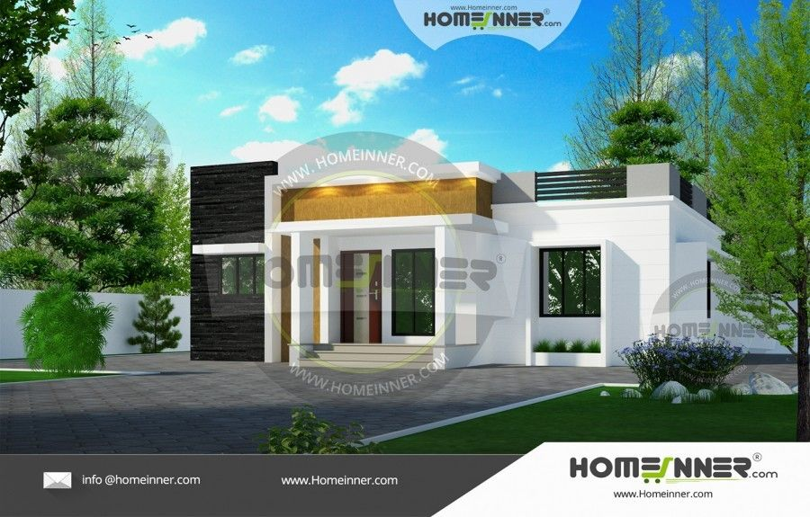 Low Cost 999 Sqft 3bhk Home Design Kerala House Design 1000 Sq Ft House House Plans