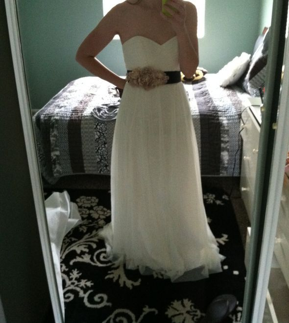 My 4 Diy Bridal Sash Weddingbee Boards
