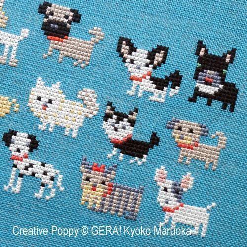 Photo of Dog Breeds Cross Stitch Pattern  – Dog Breeds Cross Stitch Pattern
