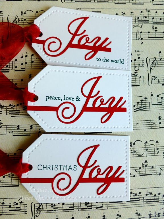 These are perfect for the Holidays with a bold message!