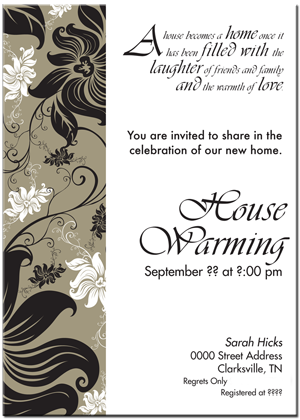 sample house warming invitation sample housewarming invitations pictures