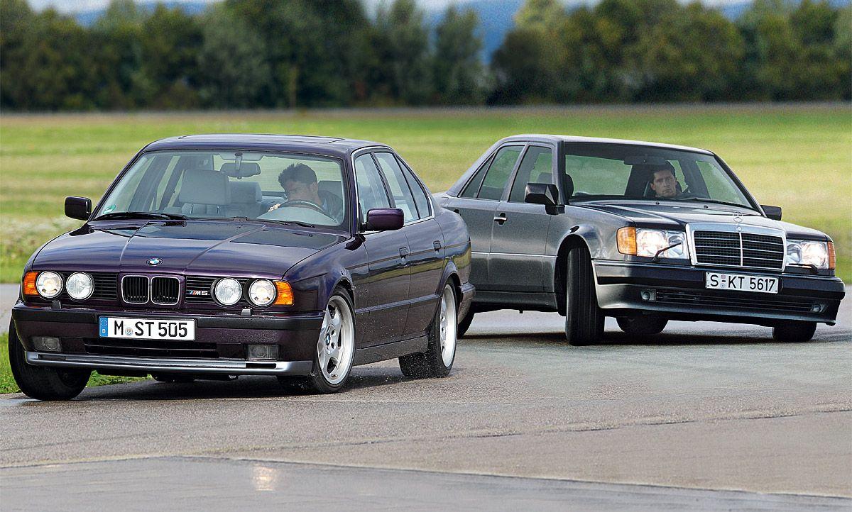 Bmw M5mercedes 500 E Classic Cars Cars Bmw M5 Mercedes 500 Bmw