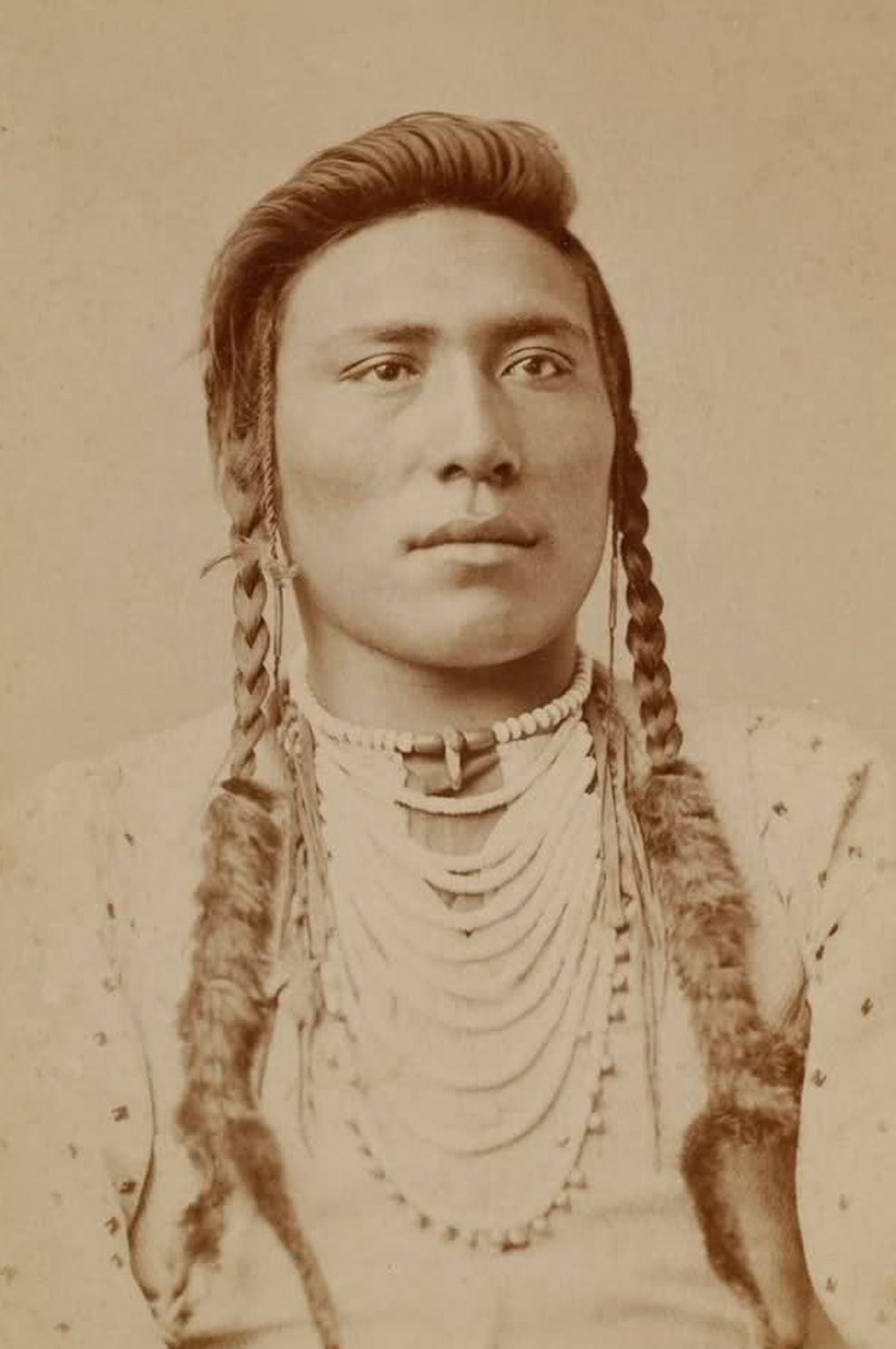 antique photograph ~+~+ native american indian 'medicine man