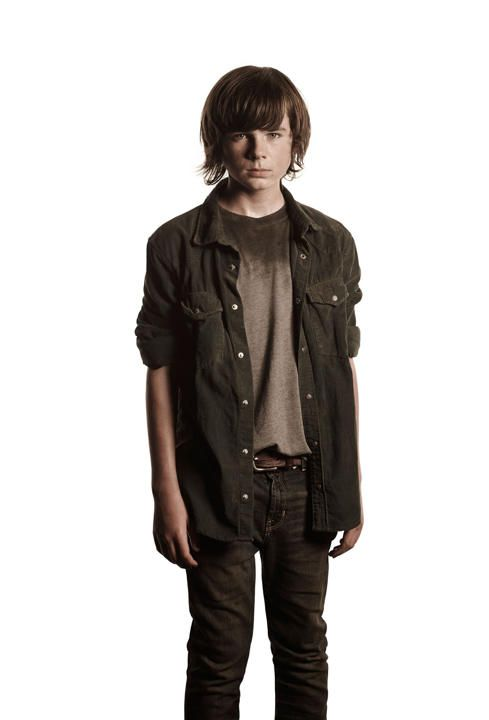 Carl Grimes (Chandler Riggs) season 4 of The Walking Dead