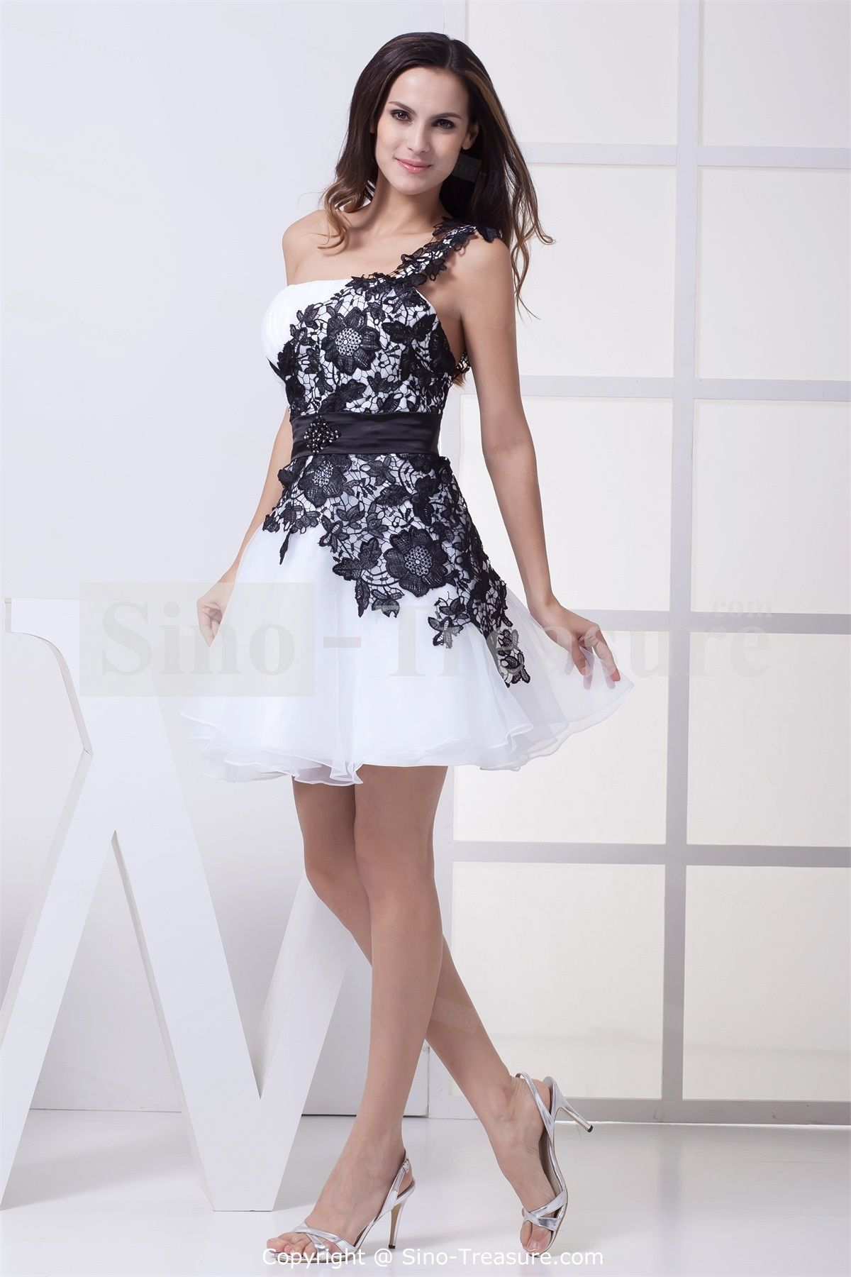 Black Beach Wedding Dress