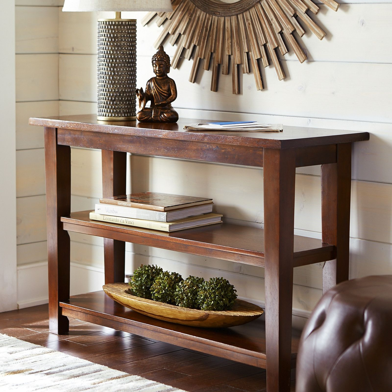 Torrance Console Table   Mahogany Brown | Pier 1 Imports