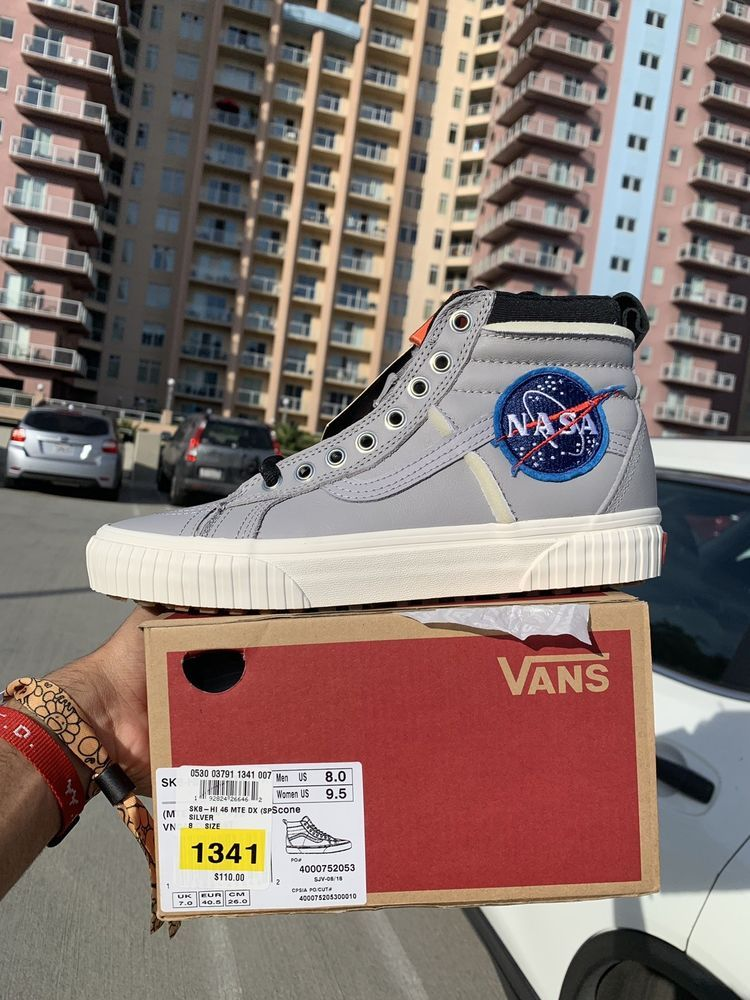 8d12e104f2 VANS X NASA Sk8-HI 46 MTE DX Space Voyager Complexcon Exclusive Size 8   nasa  vans  blackfriday