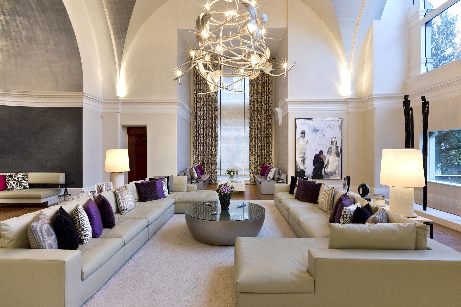 Beautiful un salon de luxe images awesome interior home satellite for Un salon de luxe