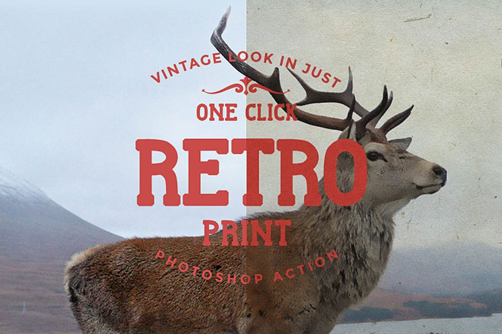 Free Retro Photo Action