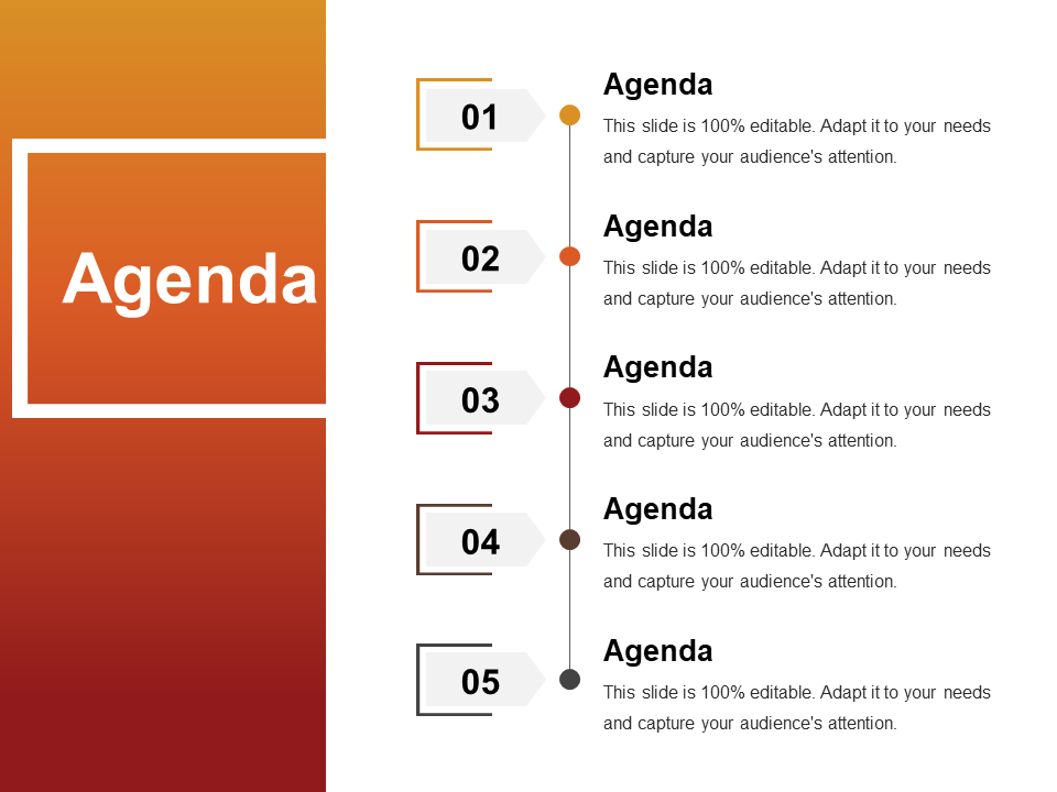 Agenda Powerpoint Templates Presentation Slides Design Agenda Design Powerpoint Design Templates