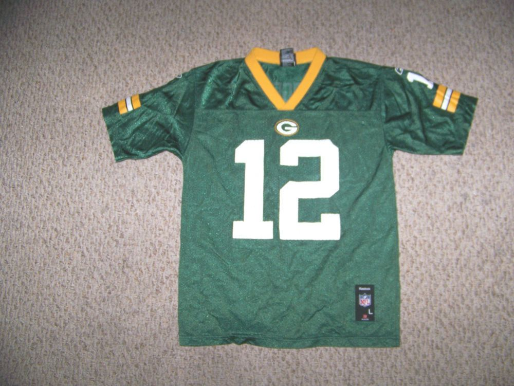 Aaron rodgers 12 green bay packers football jersey
