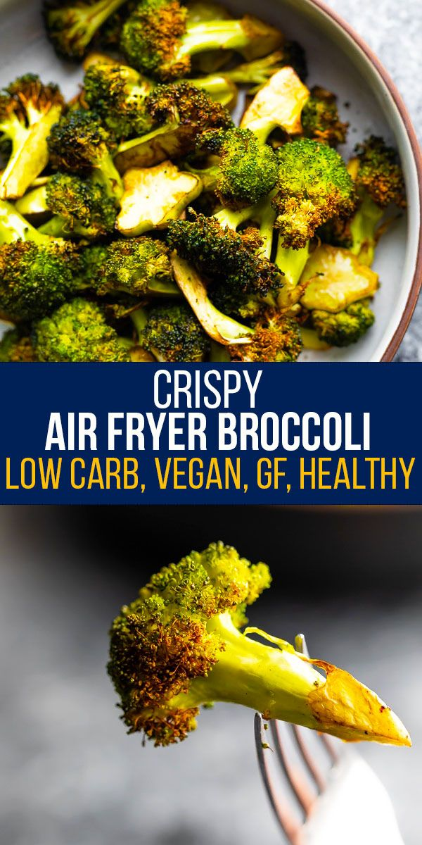 Crispy Air Fryer Broccoli   sweetpeasandsaffron.com ...