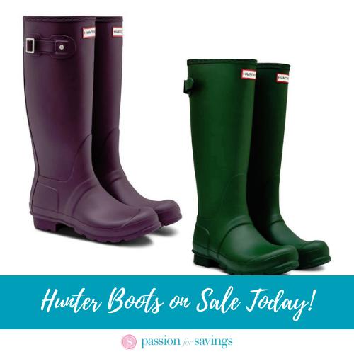 Cyber Monday 2019 Hunter Rain Boots in
