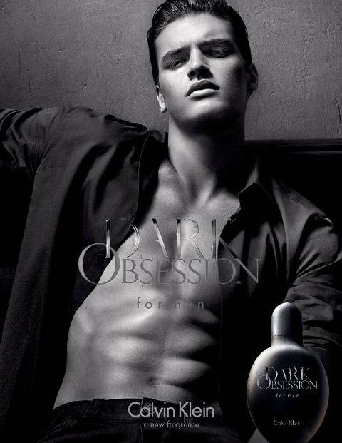 Matthew Terry Fronts Calvin Kleins Dark Obsession Fragrance