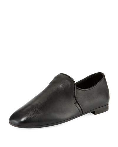be94ad5086ea6 Aquatalia Revy Flat Leather Loafers | Products | Leather loafers ...