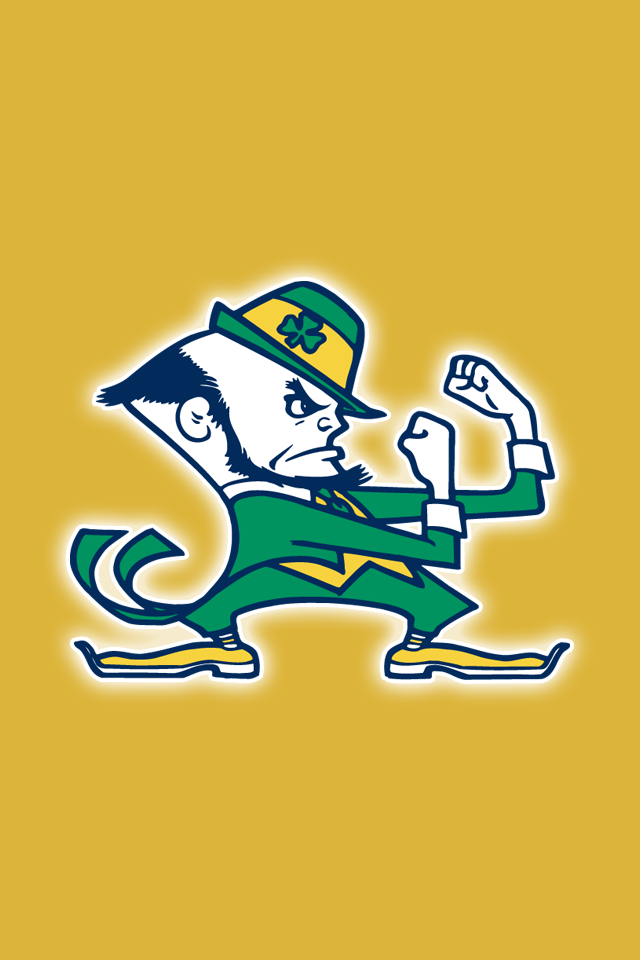 Free Notre Dame Fighting Irish iPhone Wallpapers. Install