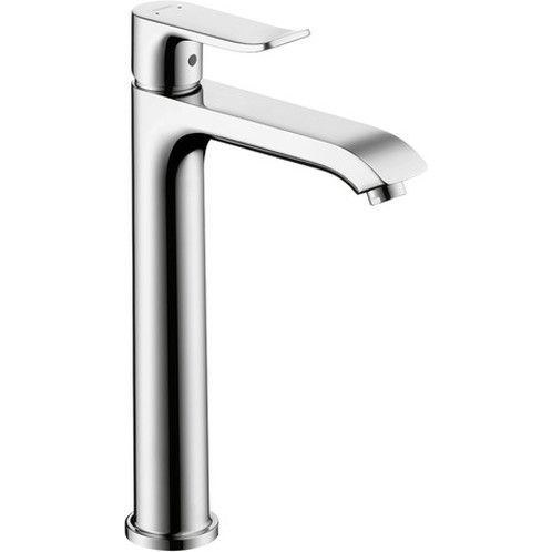 Hansgrohe 31183001 Metris Polished Chrome 200 Single Hole Faucet 1 2 Gpm High Arc Bathroom Faucet Bathroom Faucets Sink Faucets